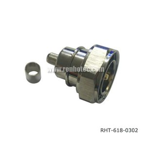 DIN 47223 7/16 Straight Male Connector for Cable