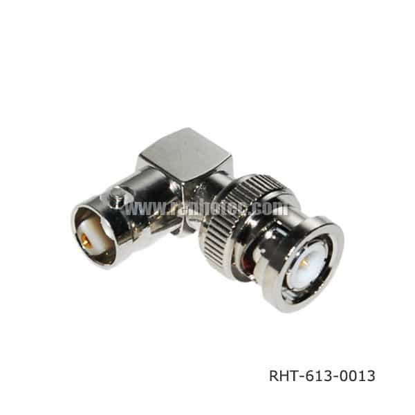 BNC Male to Female Angled Adapter