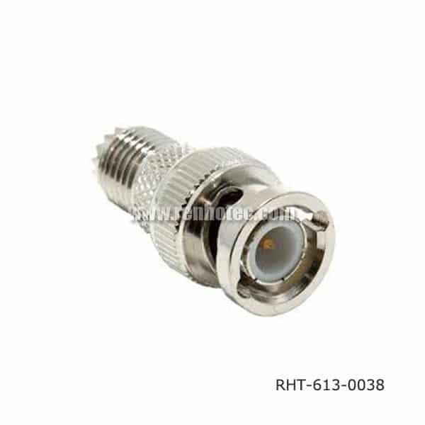 BNC Male to Mini UHF Adapter