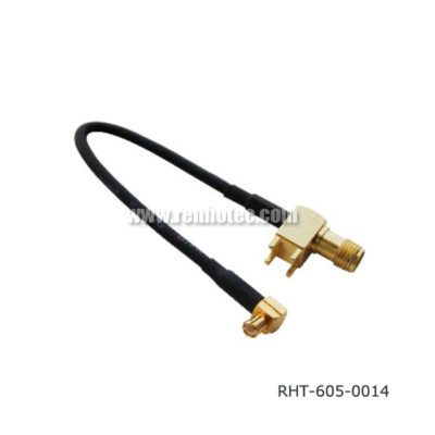 MCX Cable Assembly with SMA Female for RG58 179