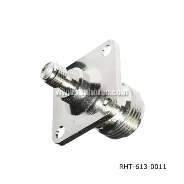 N SMA Female to Female Adpter for Flange Mount
