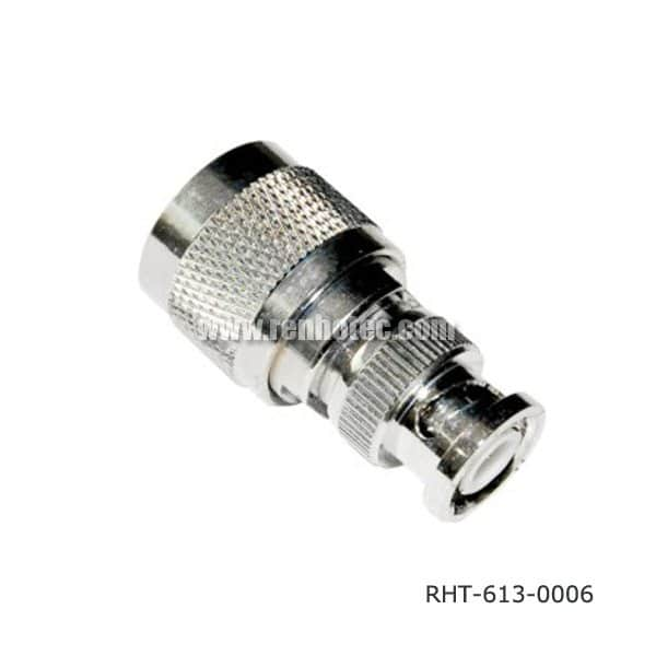 N to BNC Adapter Straight