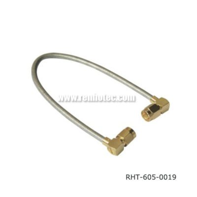 R/A SMA Male to Male Cable Assembly