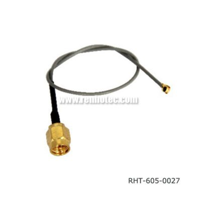 SMA Male to IPEX Pigtail Gray Cable Assembly