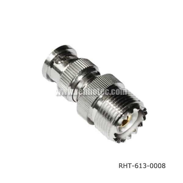 SO 239 to BNC Plug Adapter 180 Degree