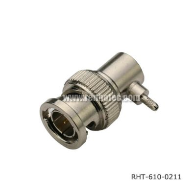 BNC Connector 90 Degree Plug for Cable RG178