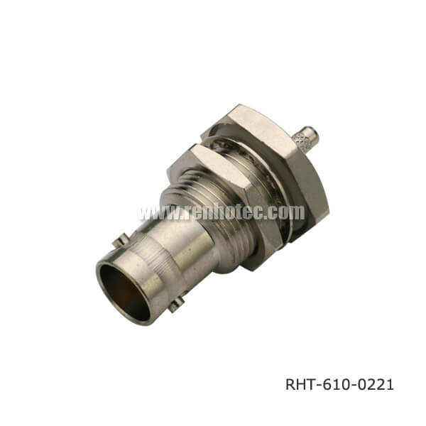 BNC Connector Bulkhead Waterproof Jack for Cable RG58