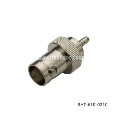 BNC Connector Female Solder Type Straight for Cable RG400