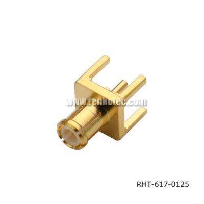 For MCX Connector Straight Plug Through Hole for PCB