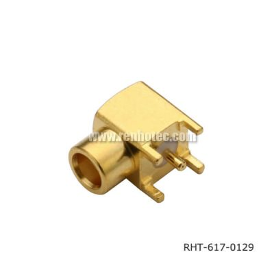 MCX 90 Degree Connector Through Hole Jack for PCB Mount