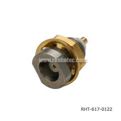 MCX Rear Bulkhead Straight Jack Receptacle