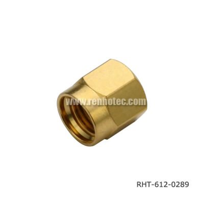 SMA Connector Cap Gold Plating for Dustproof