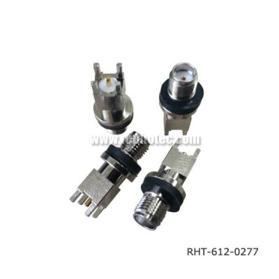 SMA Connector Jack Straight 50 Ohm 14 for PCB Mount