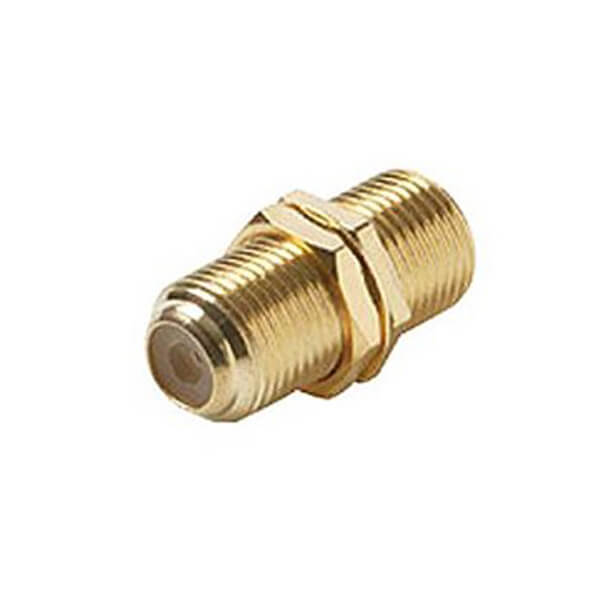 F Type Connector Adaptor Female to Female Straight
