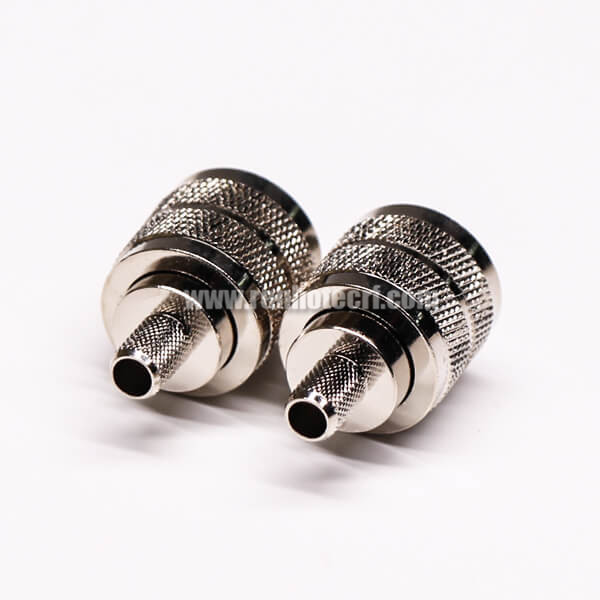 UHF Female Coaxial Connector Straight Clamp Type for Cable