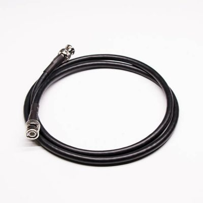 RF Cable BNC 180 Degree Male to BNC Male Straight Cable Assembly