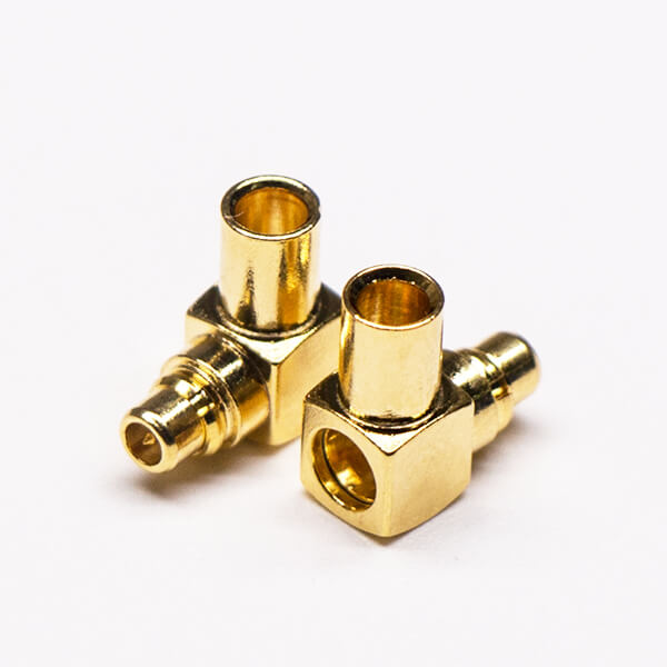MMCX Plug Connector Right Angled Solder Type for Cable