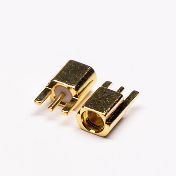 MMCX Offset Female Coaxial Connector Straight for PCB Mount