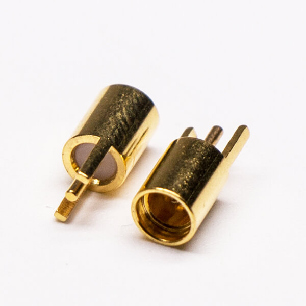 MMCX Straight Connector Gold Plated Through Hole for PCB Mount