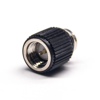 50 Ohm Male SMA Connector Black Plastic Shell Solder Type