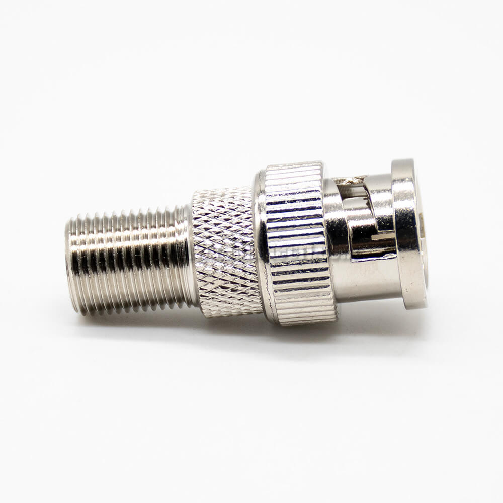 F Type To BNC Adapter Straight Female To Male