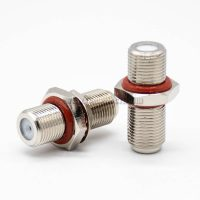 Female To Female Coaxial Adapter F Type Waterproof Straight