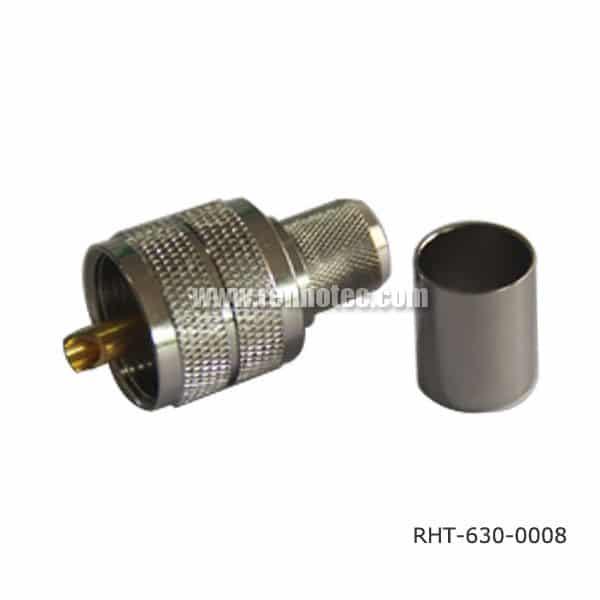 Crimp PL 259 UHF Plug for RG58, LMR300