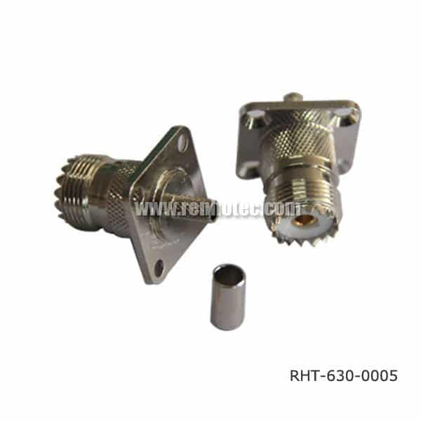 SO 239 Chassis Mount Connector Flange Female for Cable