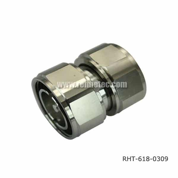 7 16 DIN Male to Male Adaptor Straight