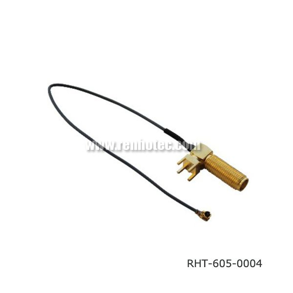 SMA RF Cable Assembly with U.FL Pigtail
