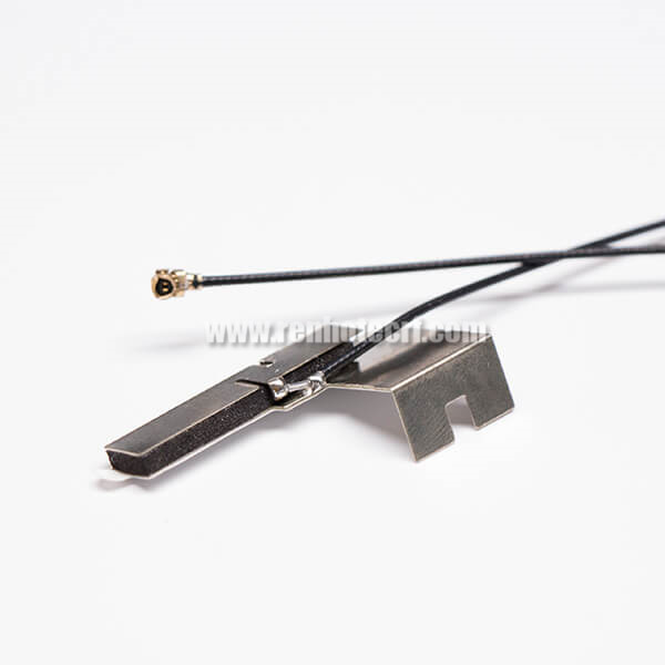 WIFI Directional Antenna Copper For TV RF1.13 Black Coaxial Cable With IPEX
