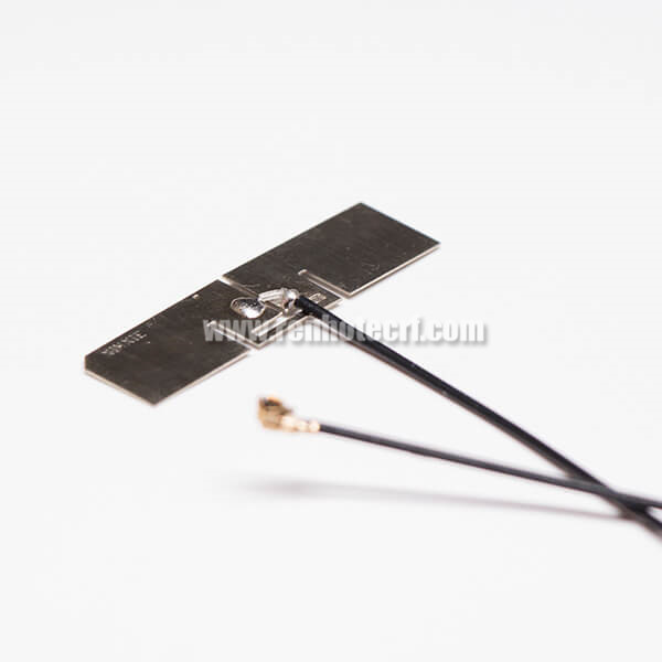 WIFI Antenna For Smart TV Cupronickel RF1.13 Black With IPEX