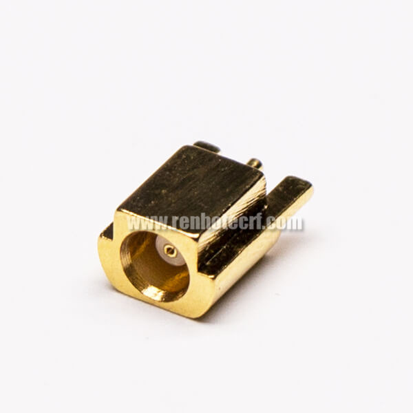 MCX Connector SMT Female Straight for PCB Mount