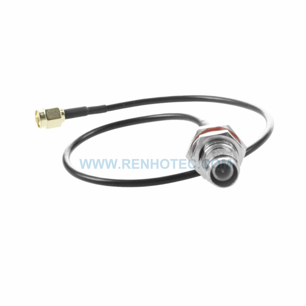 SMA Cable to BNC Front Mount Jack Cable with 15cm RG316 for Antenna