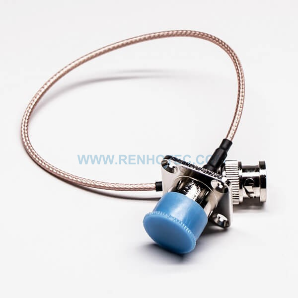 Type N to BNC Adapter Cable 4 Hole Chassis Mount N Jack to BNC Male with RG316