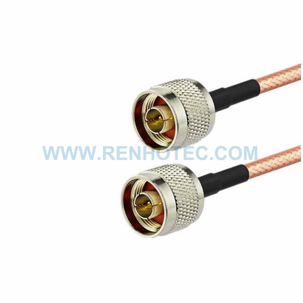 RF Coaxial Cable, N Straight Male, N Straight Male, RG400 Cable Assembly ,N cable