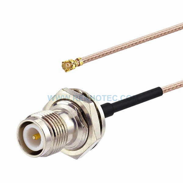 RF Coaxial Cable, RP TNC Straight Female, IPEX Right Angled Female, RG178 Cable Assembly ,TNC cable