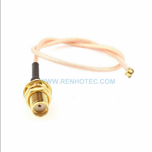 RF Coaxial Cable, SMA Straight Female, Ipex Right Angle Female, RG316 Cable Assembly , SMA cable