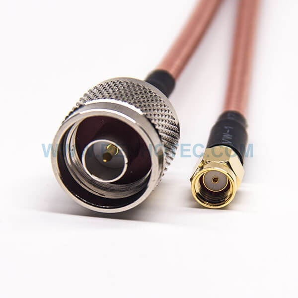 RF Coaxial Cable, N Type Straight Male, RP SMA Straight Male, RG142 Cable, SMA cable