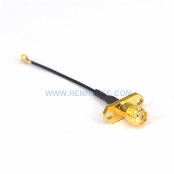 RF Coaxial Cable, SMA Straight Female, Ipex Female, 1.13 Cable Assembly , SMA cable