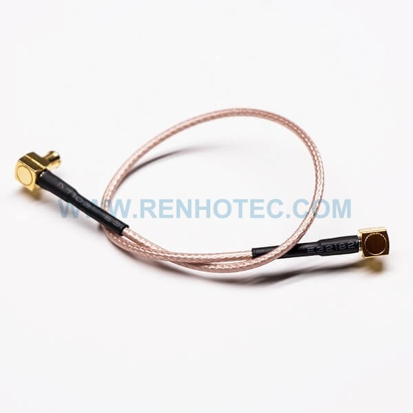 RF Coaxial Cable, MCX Connector, Right Angled/90°, Cable Assembly
