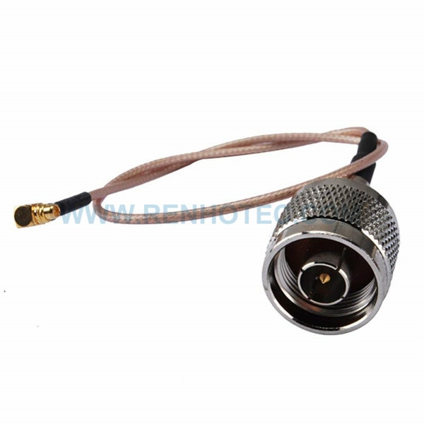 RF Coaxial Cable, N Straight Male, MMCX Right Angle Male, RG316 Cable Assembly ,N cable