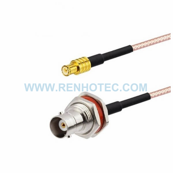 RF Coaxial Cable, BNC Straight Female, MCX Straight Male, RG316 Cable Assembly ,TNC cable