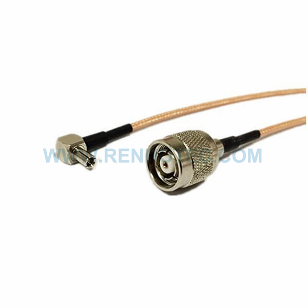 RF Coaxial Cable, TS9 Angled Male, RP TNC Straight Male, RG316 Cable Assembly ,TNC cable